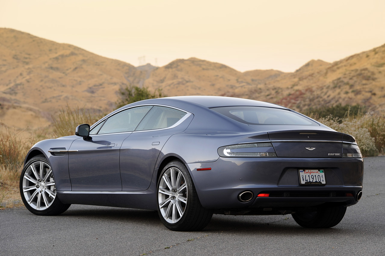 2011 New Aston Martin Rapide Wallpapers title=