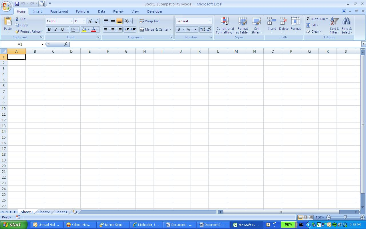 Ms Excel 2007 User Manual | Share The Knownledge