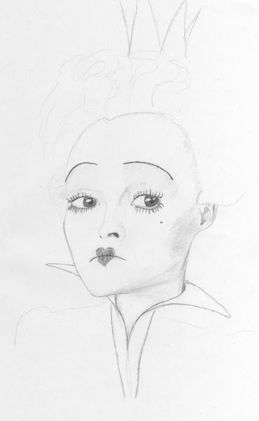 Soliloquy: Queen of Hearts (Pencil)