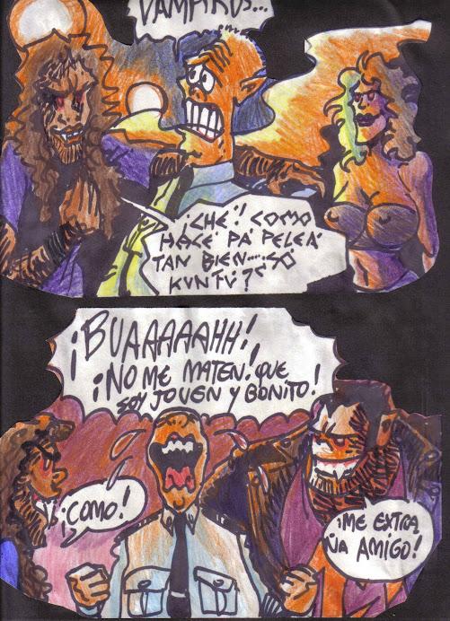 VIÑETAS/ CUATRO SATANICOS