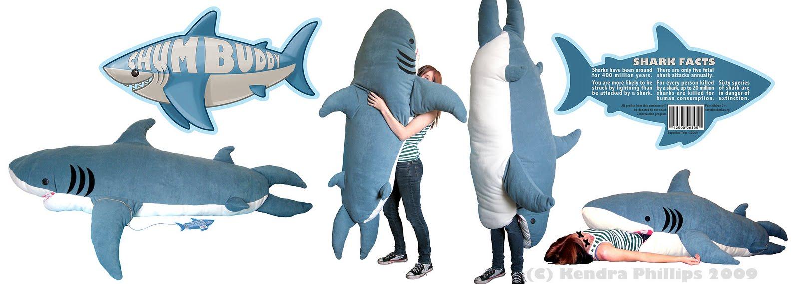 Giant Shark Sleeping Bag my influences