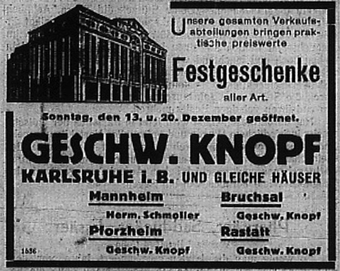 Kaufhaus Knopf