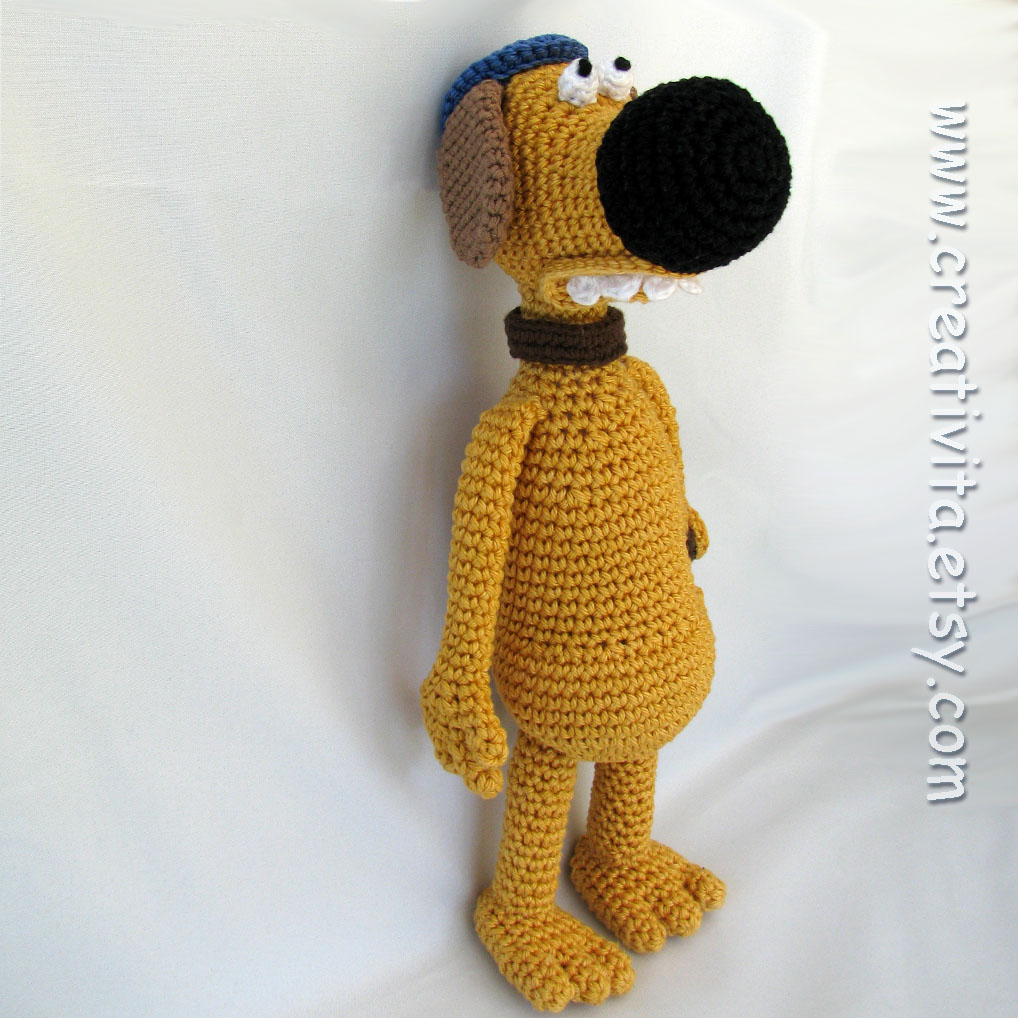 crochet goodness labels amigurumi bitzer cane crochet cute dog