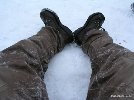 frozen waders and wading boots