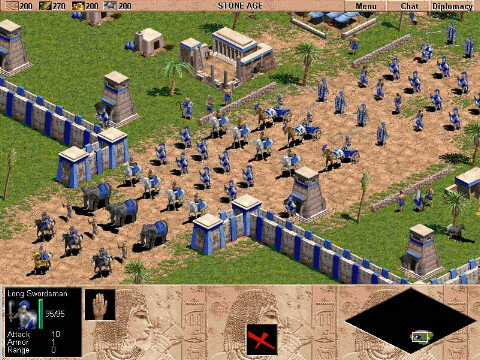 Age of Empires II: The Age of Kings + Conqueros Expansions