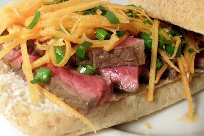 Dispensing Happiness: Vietnamese Steak Sandwich