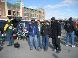 Green Bay Packers parking
