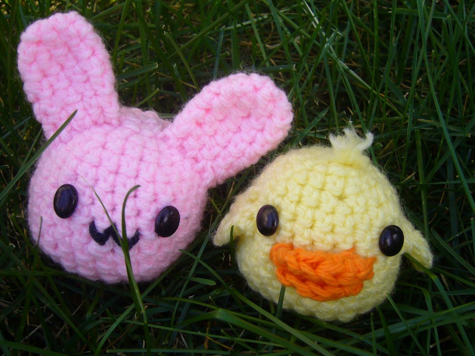 Amigurumi Duck Tutorial : Cutesy crochet kawaii amigurumi blob bunny blob duck
