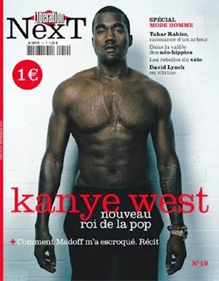 kanyewest Kanye West Covers French Magazine, Liberation Next.o
