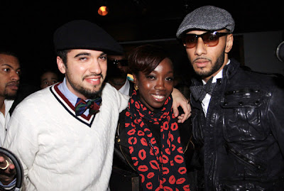 CassidyEstelleSwizz Event: GQ Celebrates Swizz Beatz at Trump Soho NYC.