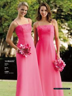coral pink wedding motif