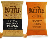 Kettle Chips Honey Dijon and Salt and Ground Pepper