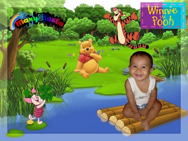 Juegos De Baño De Winnie Pooh:Winnie Pooh