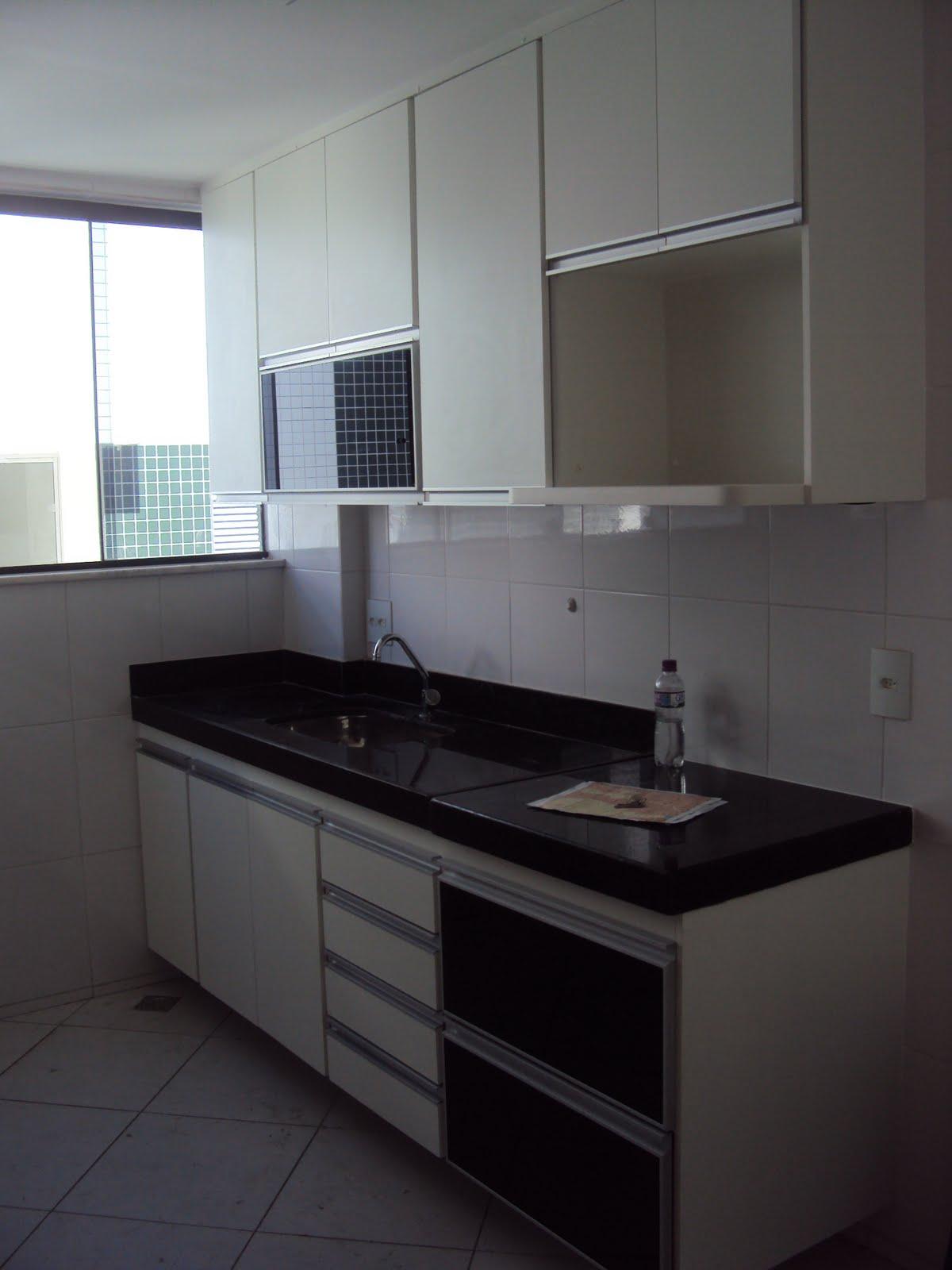 Armários Sua casa Seu estilo : Cozinha com Puxador G e portas de  #586573 1200 1600