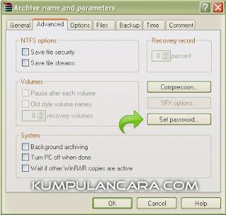 winrar1 Cara Mudah Buat Password WinRar dan WinZip