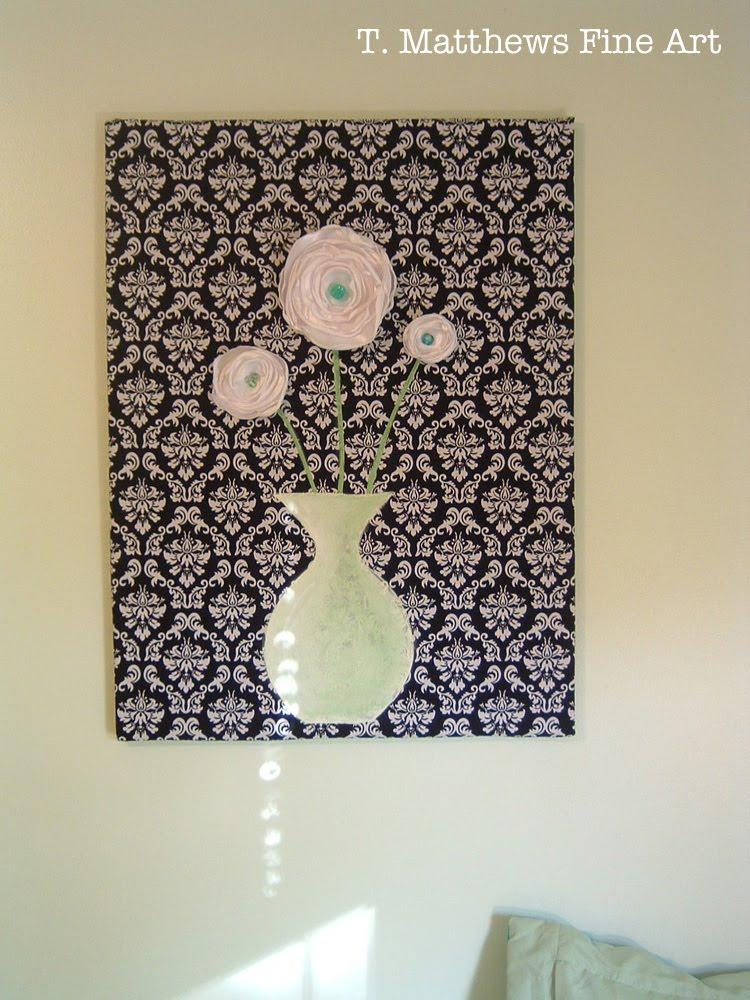 Matthews Fine Art Fabric Wall Hanging Sort Of A Tutorial