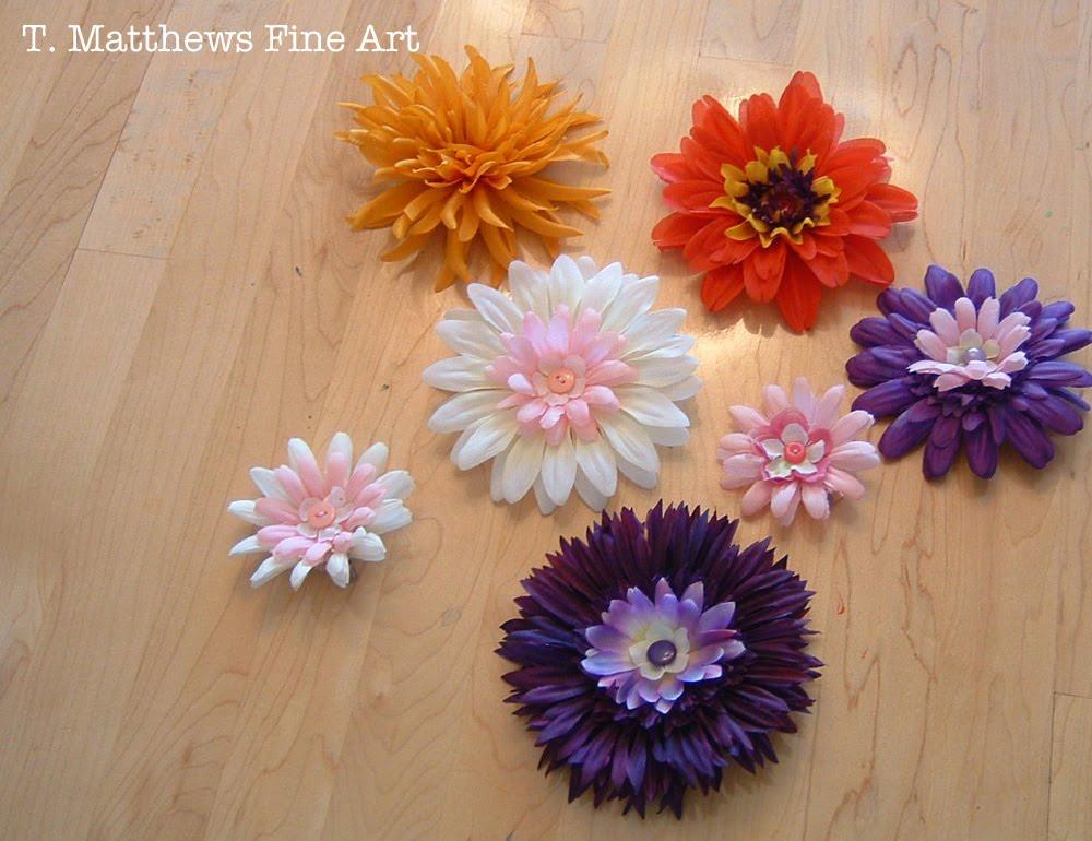 T matthews fine art silk flower hair clip tutorial silk flower hair clip tutorial mightylinksfo
