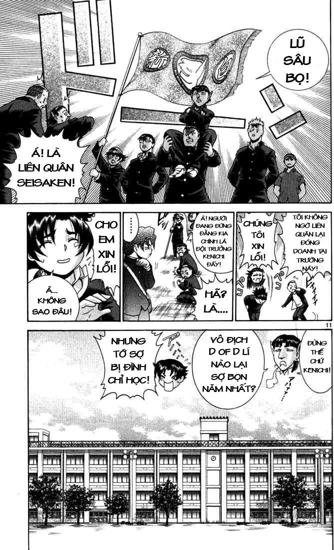 History's Strongest Disciple Kenichi chap 267 Trang 9 - Mangak.info