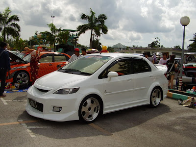 Modified Honda City by AL Motorspor