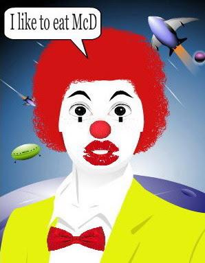 I like to eat Mcdonald