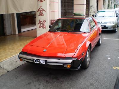Fiat X1/9 in Kuching