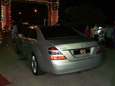 Golden Plate Mercedes S500