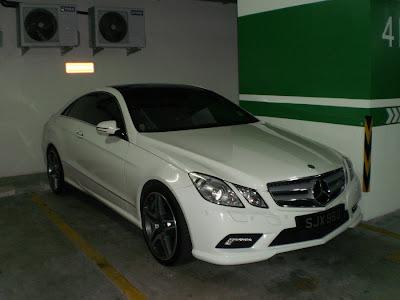 Mecedes E-Class Coupe