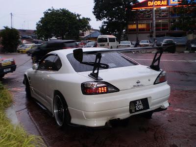 Drift style Nissan Silvia S15
