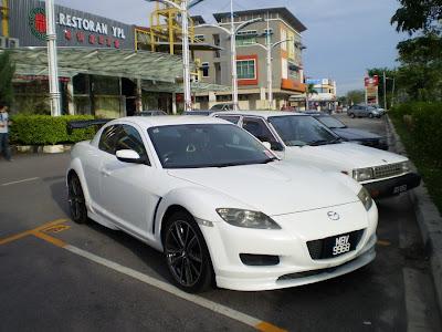 Mazda RX-8 GT spoiler