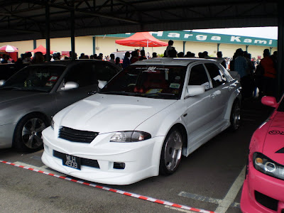 Wira A/B custom body kit audio car