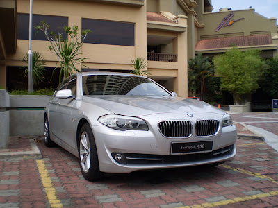 BMW New 5 Series 2010
