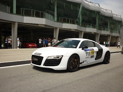 Time To Attack Sepang Audi R8