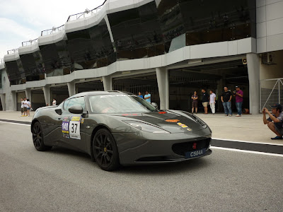 Time To Attack Sepang Lotus Evora