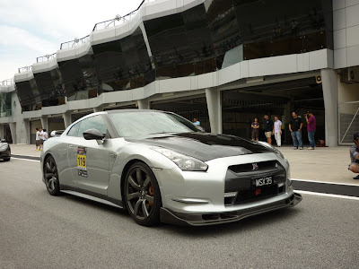 Time To Attack Sepang Nissan GTR