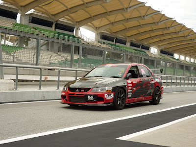 Time To Attack Sepang Modified Lancer Evolution IX