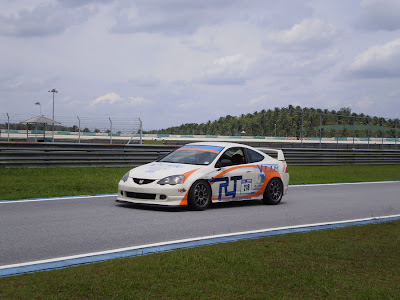 Time To Attack Sepang Honda Integra Type R DC5