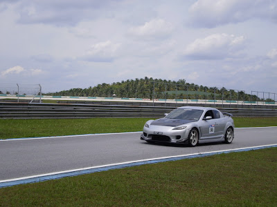 Time To Attack Sepang Mazda RX-8