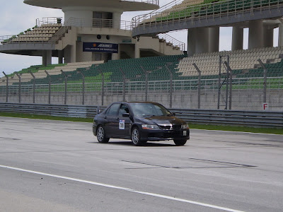 Time To Attack Sepang Lancer Evolution IX