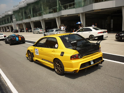 Time To Attack Sepang Lancer Evolution full bodykit
