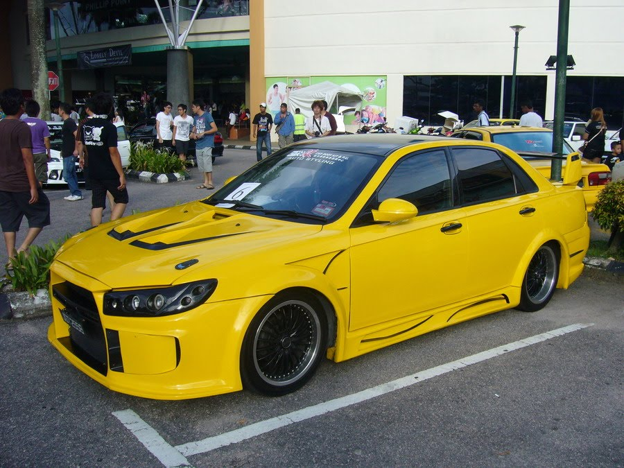 Auto Car Modif Waja Custom Body Kit