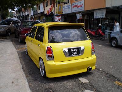 Perodua Kelisa VIP Style