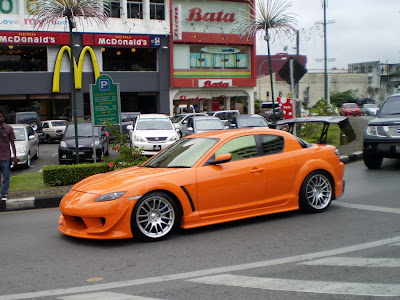 Modified Mazda RX8