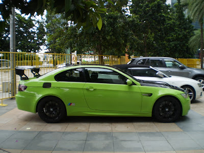 Modified BMW M3 E92