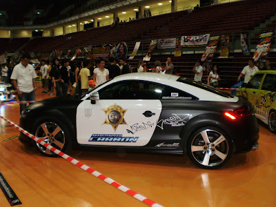 Audi TT Police Car