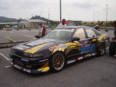 Team Toyo Drift's drifting machine