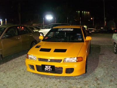 Proton Wira convert to Lancer Evolution