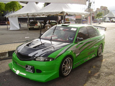 Proton Wira Aeroback audio car