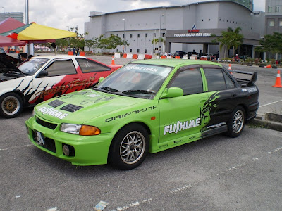 Proton Wira converted to Evolution III