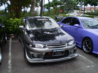 Modified Wira Sedan