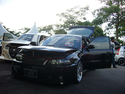 Wira Aeroback audio car